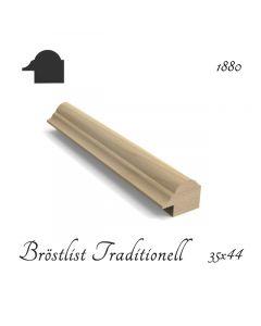 Bröstlist Traditionell